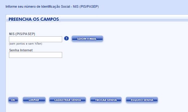 Portal do Cidadão - Consulta Pela Internet do PIS
