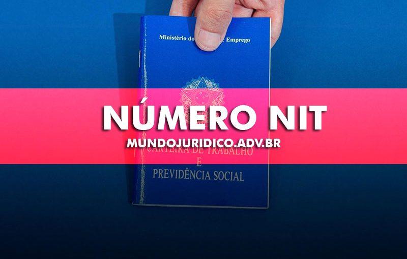 Número do NIT